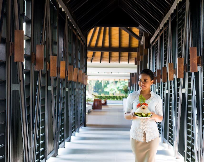 Tirta Premier Room @ Turi Beach Resort - 바탐의 게스트하우스에서 살아 ...