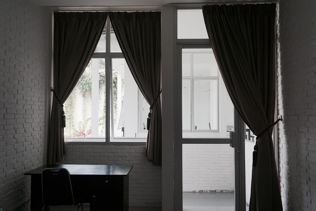 View from one of single bedroom available at Ritzel Guesthouse
