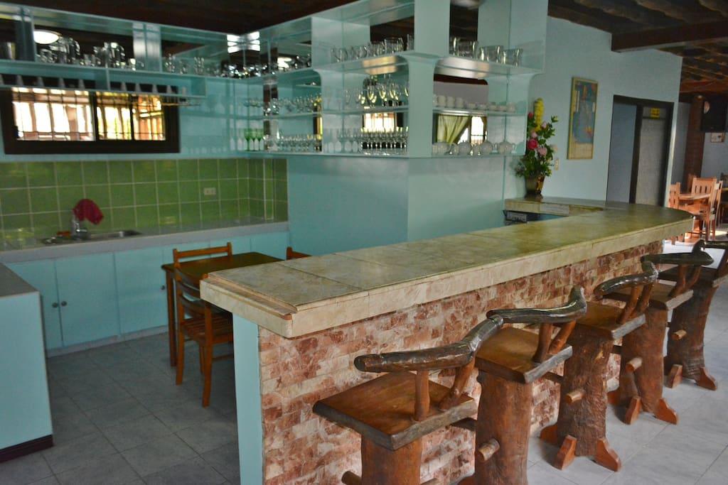 Breakfast bar at Olana B&B
