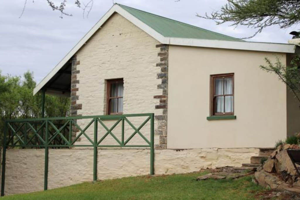 The historical Tollhouse has been lovingly restored to its original state as it was in the times of the Anglo Boer War.