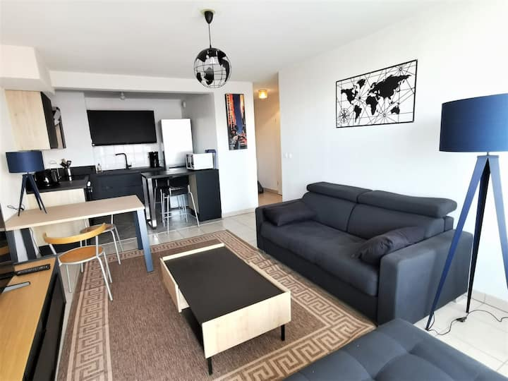 Nice apartment with parking Bordeaux