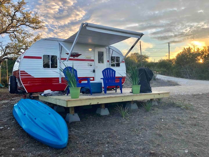 Hill Country Retro Travel Trailer