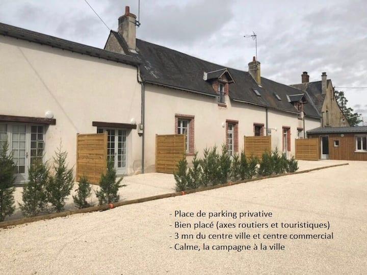 Studio Tout Confort & Petit Extérieur