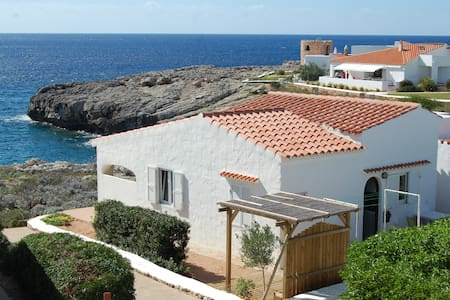 Unobscured sea view villa for 5.Binibeca, Menorca. - Binibeca