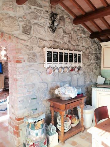 RUSTICO VILLA DRAGHI MONTEGROTTO T. - Montegrotto Terme - Wohnung