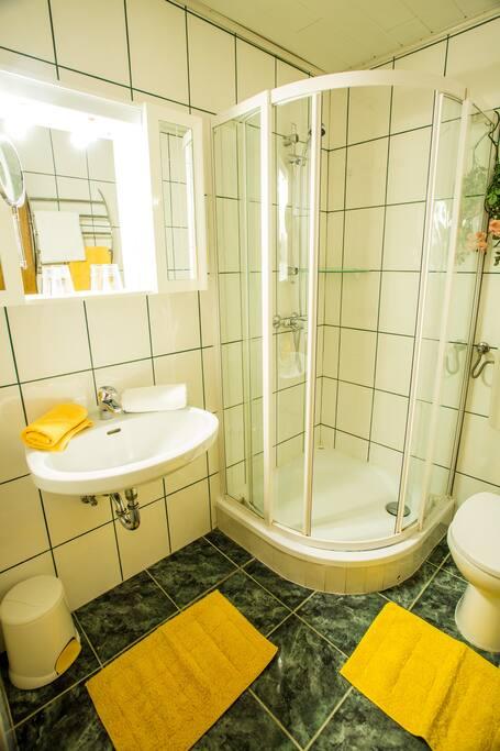 Apartment Blaumeise Badezimmer