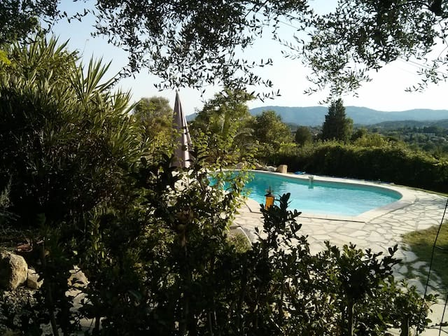 Provencal  farm house with pool