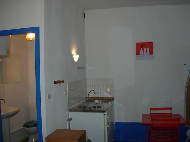 Beau studio centre petite ville - Condrieu - Дом