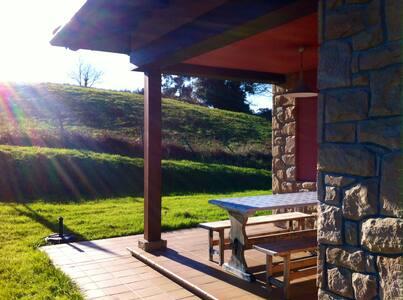 Habitación doble en Casa Rural II - Arroes, Gijón
