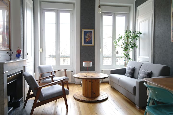 Eco-Friendly & Comfy Apartment in Lyon 5 - Lyon - Apartamento