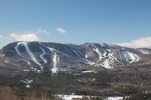 Nearby skiing at Sunday River (shown) Black MT and MT Abraham.