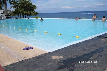 new Lux. 2BR condo- Beach +4 pools - Lapu-Lapu City - Apartmen