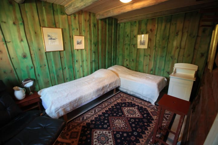The green room, Elverhøi Skysstasjon