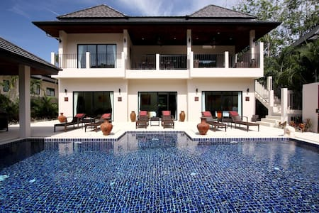 OPAL VILLA: 7 Bedroom Private Pool Near Beach - ラワイ
