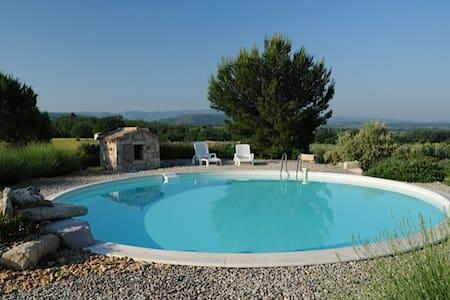 Cabanon provençal et piscine sur site d'exception - Mazan - Οικολογικό κατάλυμα