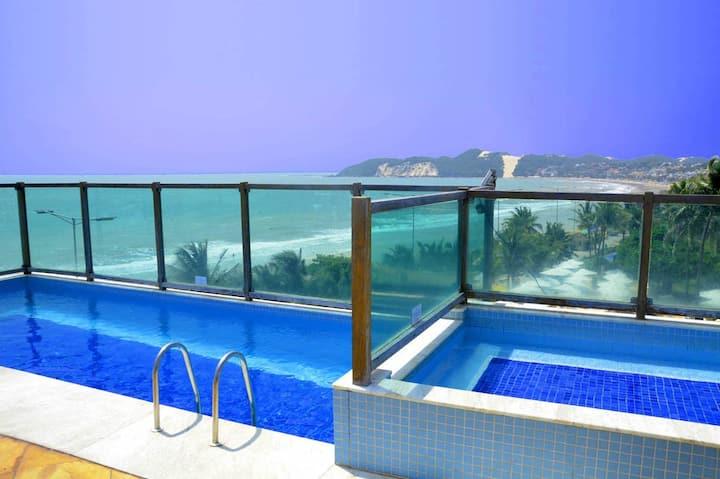 Araça Flat 305 - Luxury apartment facing sea