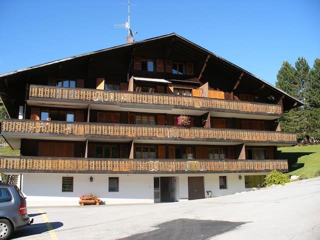 Appartement 2 pièces avec piscine - Ormont-Dessus - Lägenhet