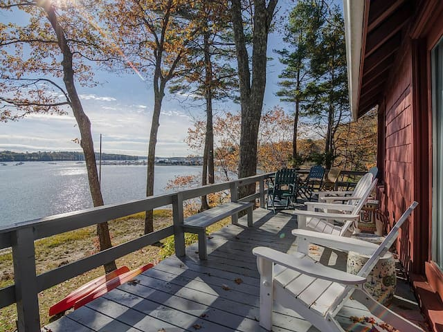 Talbot Way Cottage: Water Front Cottage in Maine - Freeport - Casa