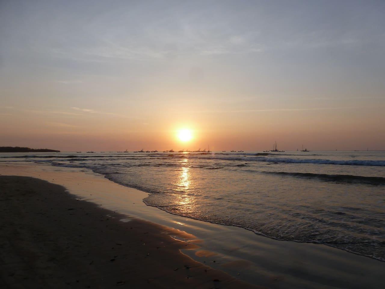 Gorgeous Tamarindo Sunset
