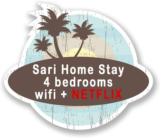 Sari Home Stay- WIFI+ NETFLIX - room n° 3