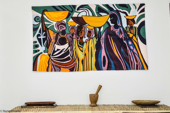 Guestroom in central Dakar, Amitié2