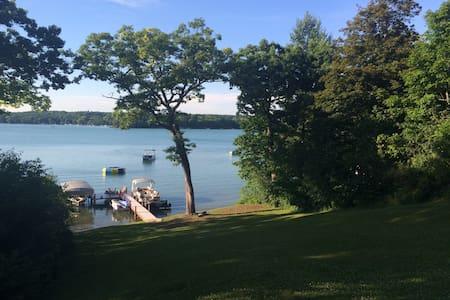 Beaver Lake! Lakefront Summer Rental in Wisconsin