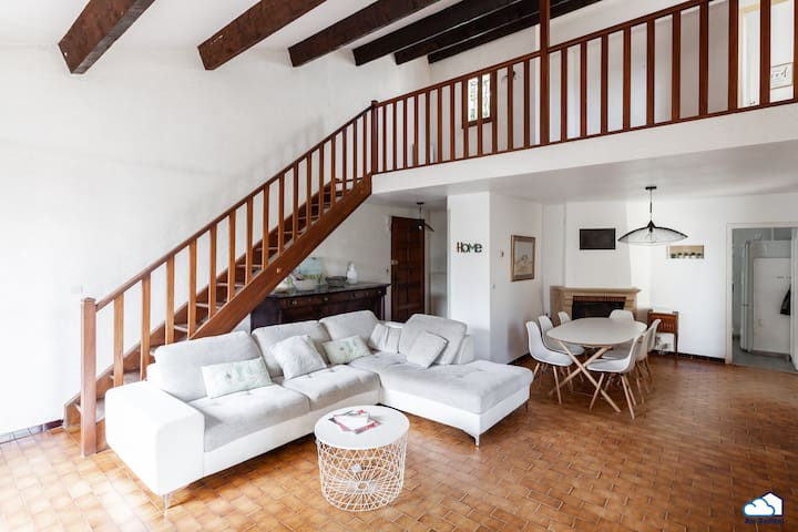 beautiful house with garden /center of Arles