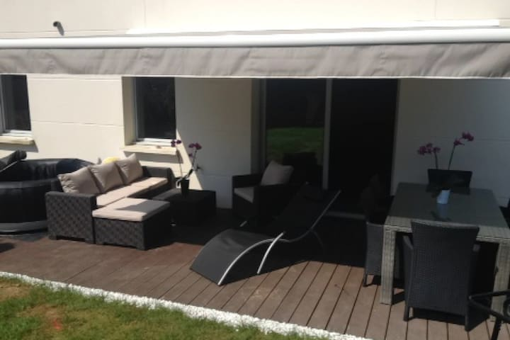joli appartement avec jardin - Tours - Lägenhet