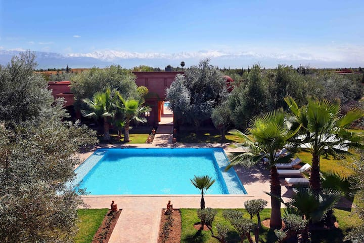 Amazing place! (7 rooms) - Marrakesh - Casa de camp