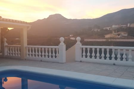 Detached Villa, Private Pool, Wi-Fi, BBQ, Air-Con - Parcent
