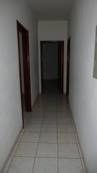 corredor para quartos