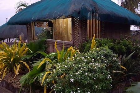 Nipa hut with aircon - Alaminos City Pangasinan - Pondok