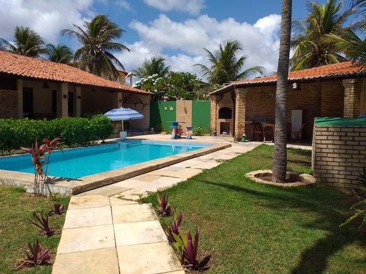Hospedaria Seis Bê Casa de Praia em Morro Branco