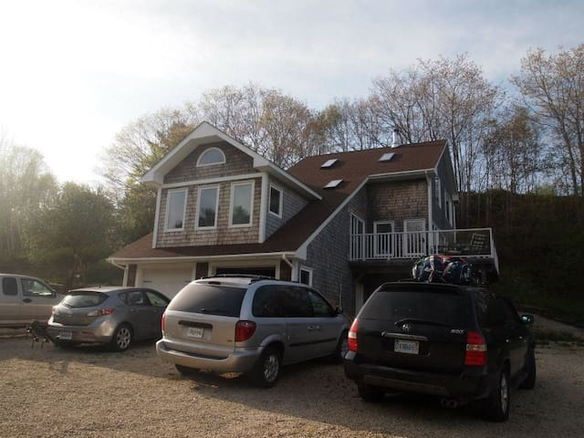 Oceanfront with views of Oak Island - Western Shore - House
