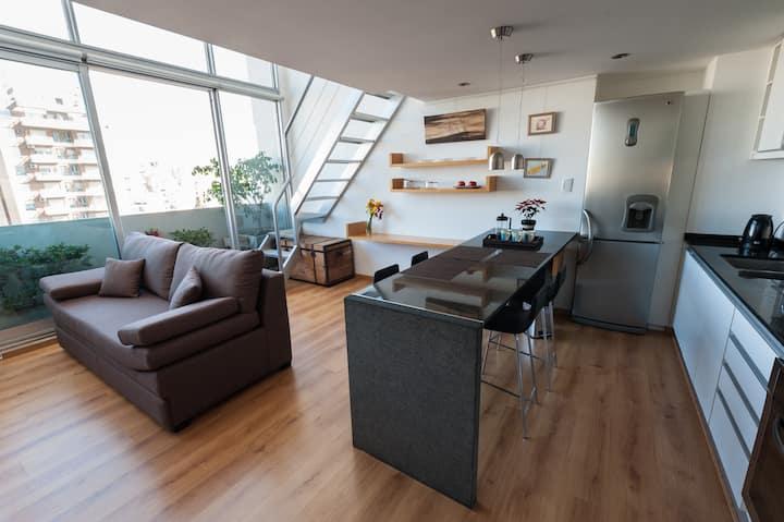 Lovely and luminous new duplex in San Telmo