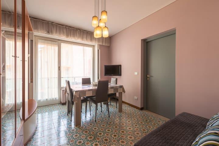 Encantador apartamento en San Remo cerca de la playa