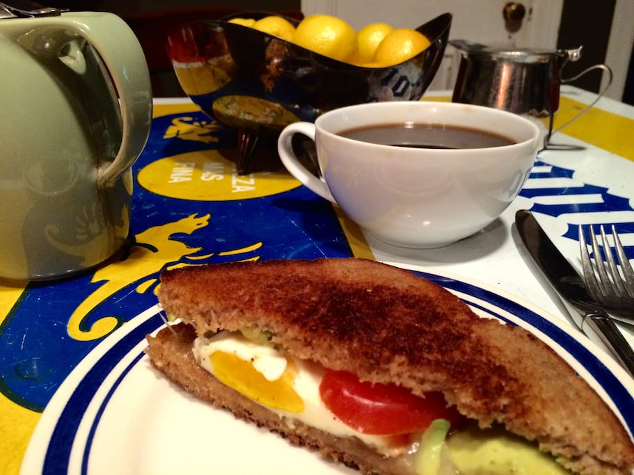 (breakfast not available May - Sept) Gourmet breakfast and coffee included! Best deal in town for two people on the go!