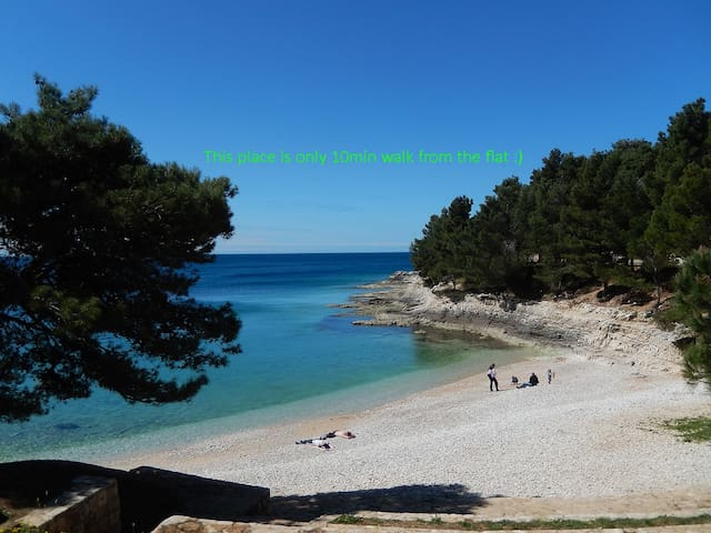 Great flat few minutes from beach! - Pula - Apartment