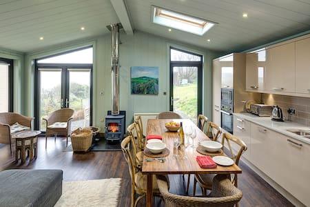 Luxury bespoke Lodge in private rural setting