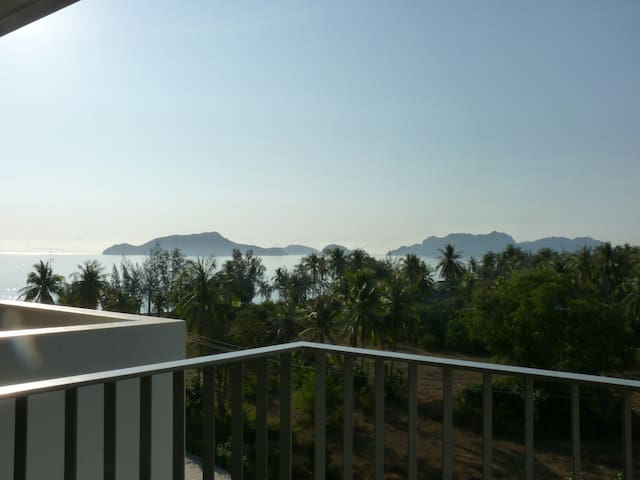 cozy apartment beautiful sea view - Sam Roi Yot - Apartamento