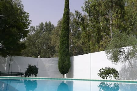 A great location, a large garden - Villa