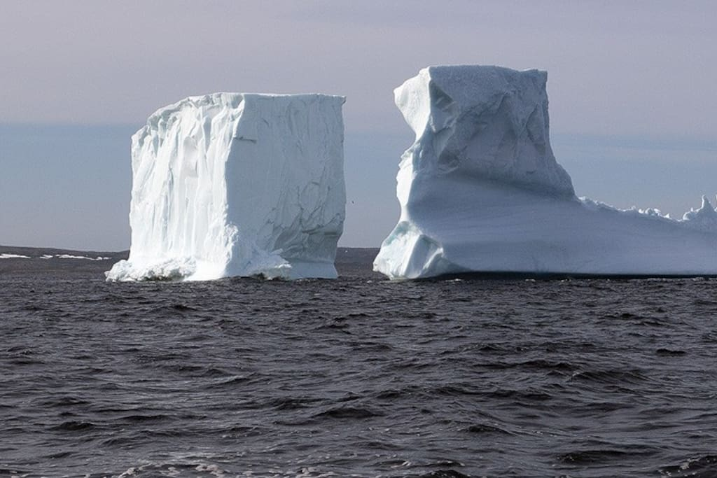 Bird Island B&B is located along iceberg alley...enjoy ice berg views right from your seaside deck