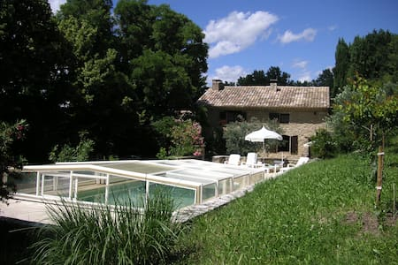 SEGURET Mas Provençal avec Piscine - Séguret