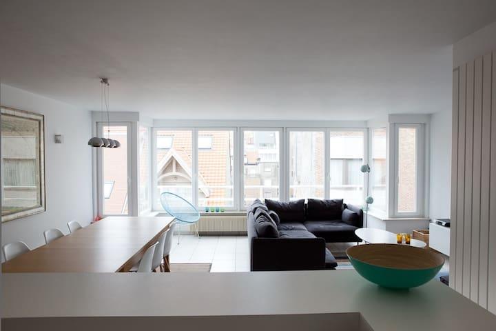 Lichtrijk appartement met zeezicht - Knokke-Heist - Apartemen