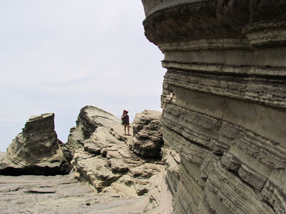 This beautiful scenery, the mystical rock formation of Biri is just across our island and 15-20 minutes travel by boat.