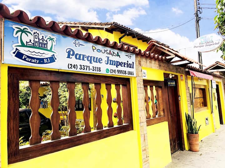 Pousada Parque Imperial no Centro Paraty (Casal)