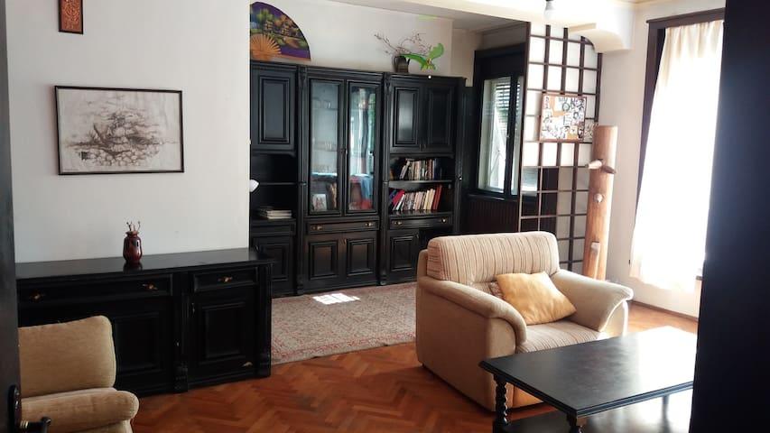A spacious central apartment