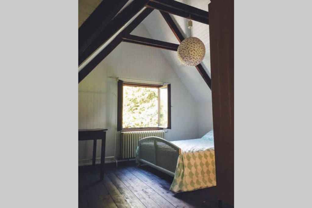The larger double bedroom