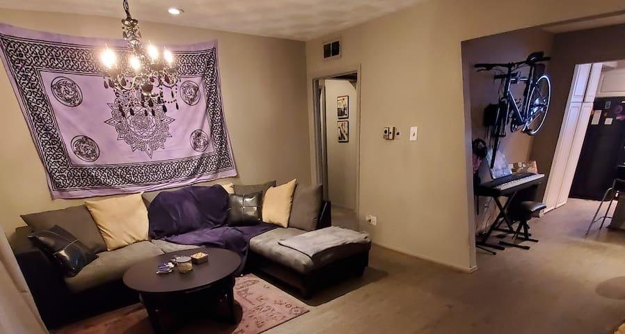 Main living room area. Welcome!
