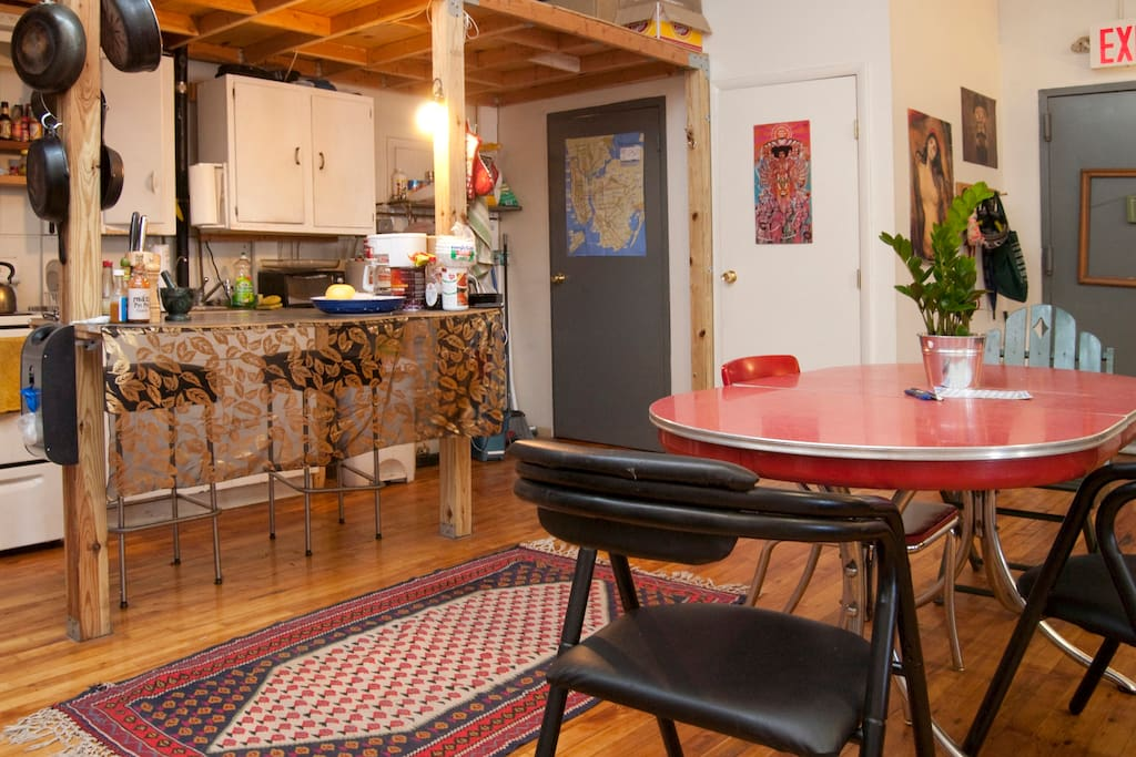 Room in Greenpoint Loft w/ Roof
